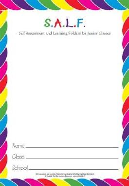 S.A.L.F Folder for Junior Classes