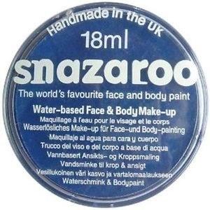 Snazaroo Face Paints Dark Blue 18ml
