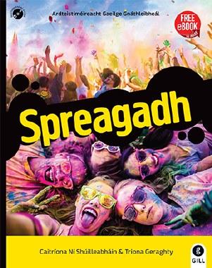 Spreagadh Ordinary Level Leaving Cert Irish with free eBook Gill & Macmillian