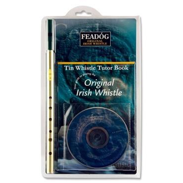Feadog Tin Whistle, Book and CD