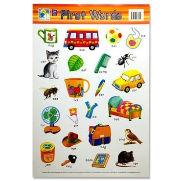 Wall Chart First Words