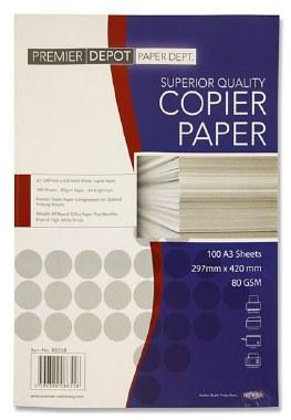 Copier Paper A3 80g 100 sheets