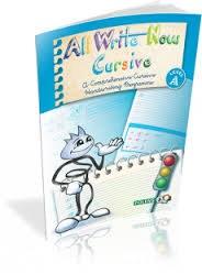 All Write Now Cursive Handwriting Book A Folens