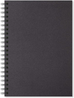 Artgecko Shady Sketchbook A4 200g Black Pages