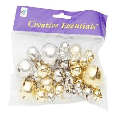 Creative Essentials Bells Gold & Silver 127g
