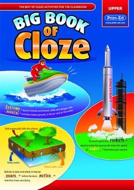 Big Book of Cloze Upper 5th and 6th Class Age 11 Upwards Prim Ed