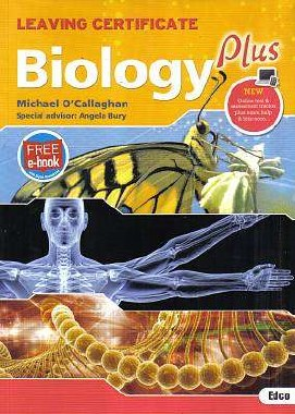 Biology Plus Textbook Leaving Cert with Free eBook Ed Co