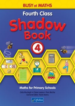 Busy at Maths 4 Shadow Book CJ Fallon