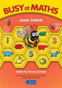 Busy at Maths Junior Infants Pack of Pupils Book and Home School Links Book CJ Fallon