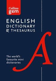 Collins Gem English Dictionary and Thesaurus Combined