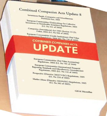 Combined Companies Acts Update 8 Gill and MacMillan