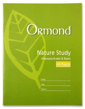 Copy Nature Study 40 Page Ormond