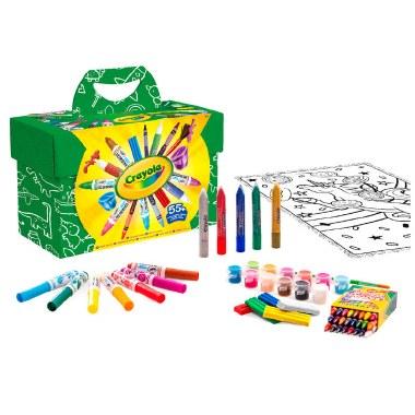 Crayola Paint & Colour Set 55 Pieces