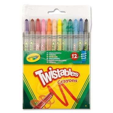 Crayons Twisties 12 Pack Crayola