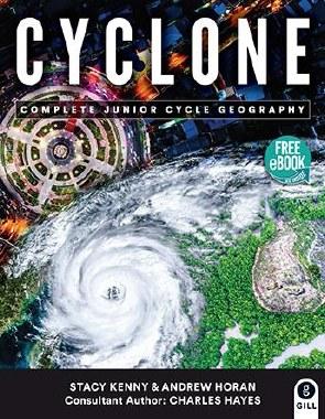 Cyclone Text & Workbook Junior Cert Geography Gill & Macmillan