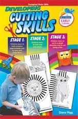 Developing Cutting Skills Stage 1 2 and 3 Age 3 to 5 Infant Classes Prim Ed