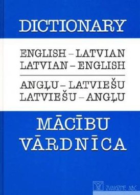 Dictionary Latvian English Blu