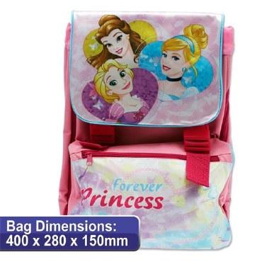 Disney Princess School Bag Square 40cm Backpack