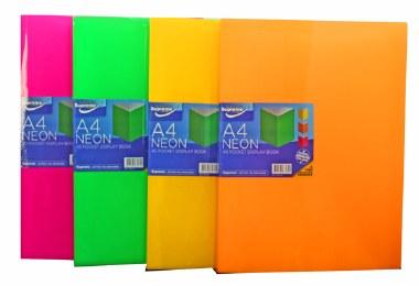 Display Book 20 Pocket A4 Neon Supreme