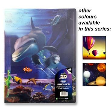 Display Book 40 Pocket 3D Design