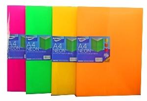 Display Book 60 Pocket Neon Supreme