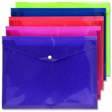 Button Wallet A4 Extra Capacity Premto S-2