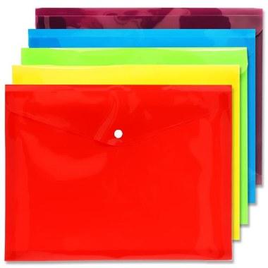 Button Wallet A4 Extra Capacity Premto S-1