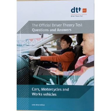 Driver Theory Test Book Cars, Motorcycles & Work Vehicles, June 2019 Edition