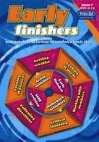 Early Finishers Book F Fifth Class Prim Ed