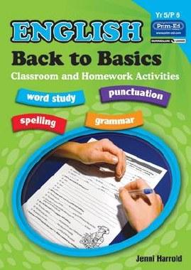 English Homework Book E Back to Basics 4th Class Prim Ed