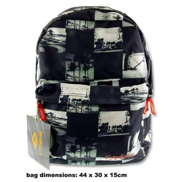 Premier Explore Backpack 25 Litre Collage BlackWhite