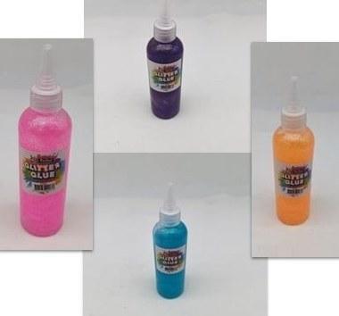 Glitter Glue Neon Colours Perfect Stationery