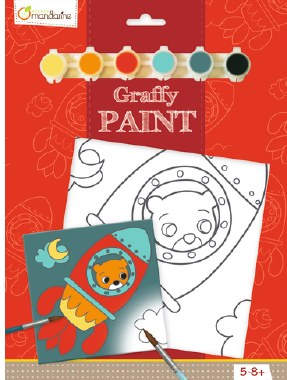 Graffy Paint Rocket Bear