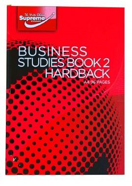 Business Book 2 A4 Hardback Supreme