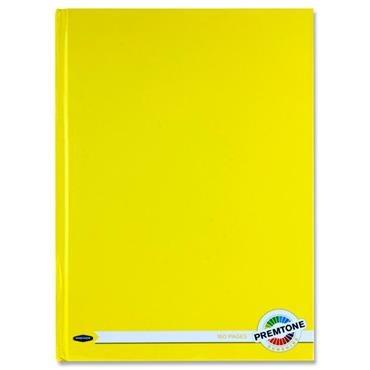 Hardback A4 160 Pages Sunshine Yellow