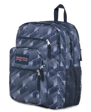 Jansport Big Student School Bag Geo Flux 34 Litres