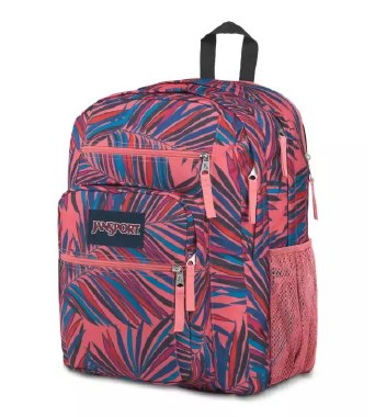 Jansport Big Student School Bag Dotted Palm 34 Litres