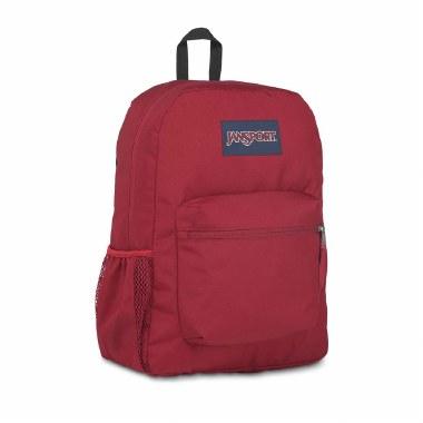 Jansport School Bag Cross Town Viking Red 25 Litres