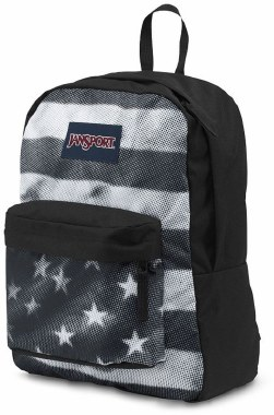 Jansport Superbreak School Bag Black Tonal USA 25 Litre