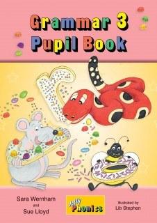Jolly Grammar Pupils Book 3 in Precursive Looped Writing
