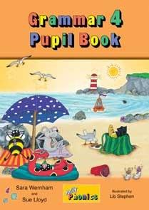 Jolly Grammar Pupils Book 4 in Precursive Looped Writing