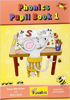 Jolly Phonics Pupils Book 1 Colour  in Precursive Looped Writing