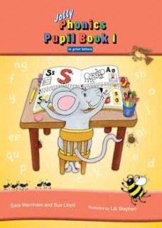 Jolly Phonics Pupils Book 1 Colour in Print Writing ONLY if your list says PRINT Letters