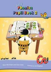 Jolly Phonics Pupils Book 2 Colour in Precursive Looped Writing