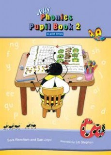 Jolly Phonics Pupils Book 2 Colour in Print Writing ONLY if your list says PRINT letters