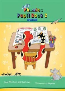 Jolly Phonics Pupils Book 3 Colour In Print Writing ONLY if your list says PRINT writing