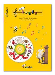 Jolly Phonics Jolly Songs Book and CD