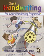 Just Handwriting 2 for 2nd Class PRE-CURSIVE Educate