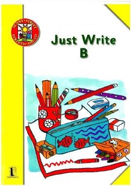 Just Write B Script Handwriting Ed Co