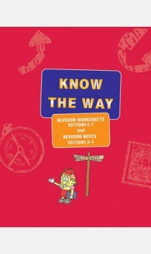 Know the Way Revision Worksheets Sections E to F and Revision Notes Sections A to F Red Veritas